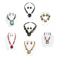 Best Set Of 7 African Jewelry Sets, Assorted Necklace Sets