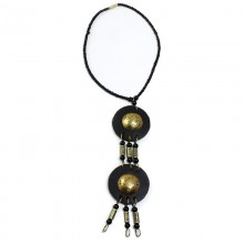 Lovely Maasai Goddess Necklace SKU: SOA-J-N614