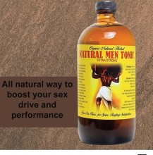 Best Organic Natural Men Tonic - 16 oz