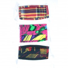 Lovely African Print Face Masks - ASSORTED SKU: SOA-C-A714