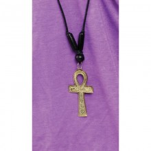 Gold Ankh Necklace: Large (3